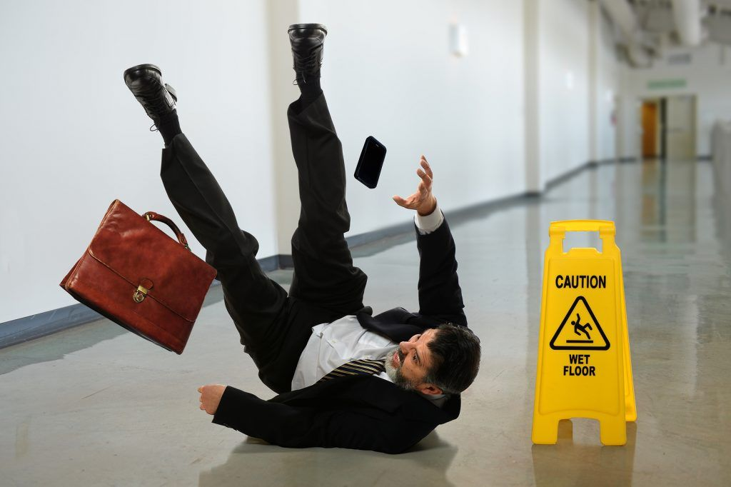 How To Avoid Tripping, Slipping and Falling At Work