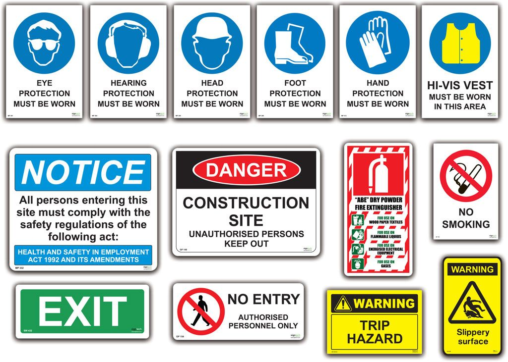 Safety Signs 1024x731 Advanced Consulting And Training
