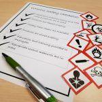 WHMIS safety checklist