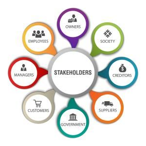 diagram of stakeholders