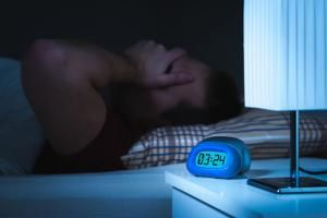 man can't get god night's sleep