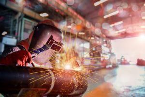 welding in factory