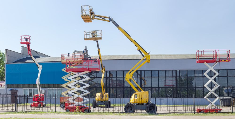 various types of scissor lifts