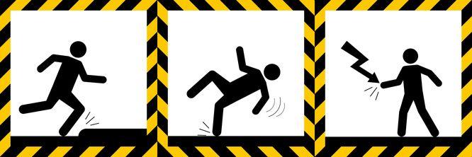 various workplace hazard signs