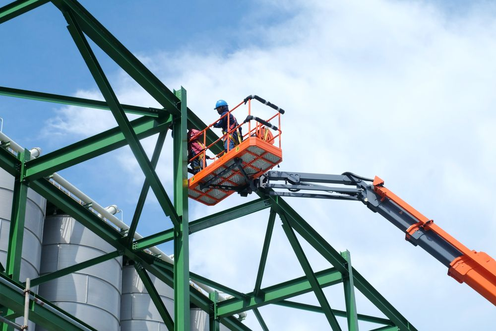 lift working at heights construction