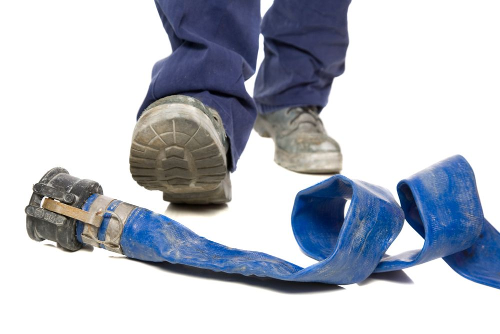 hose poses hazard in workplace