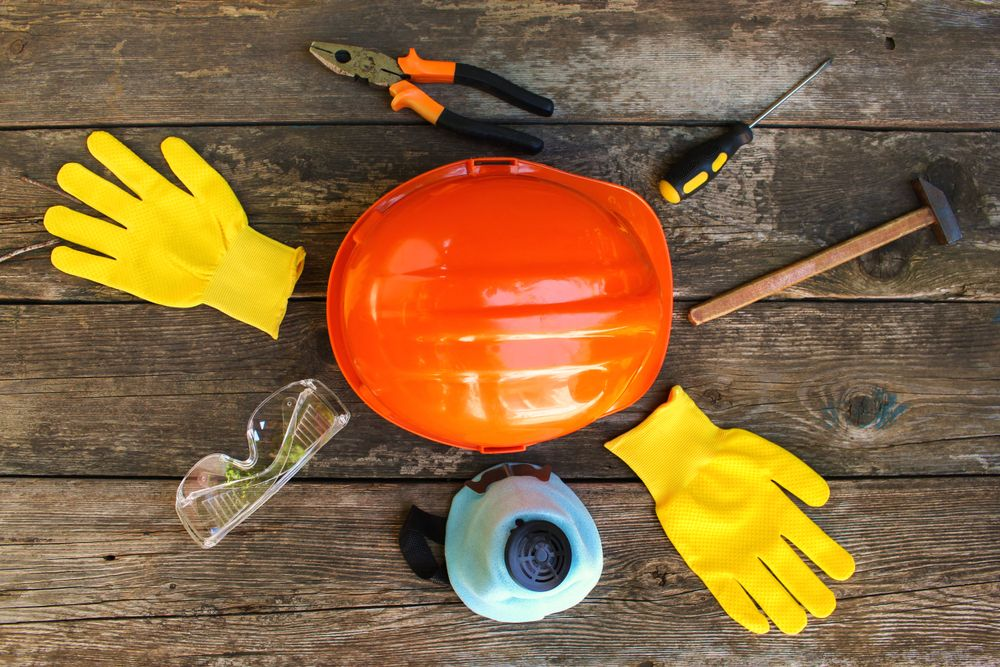 assorted personal protective equipment