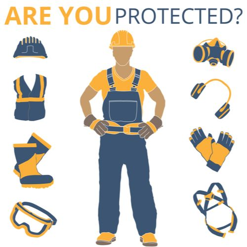 illustration of personal protective equipment