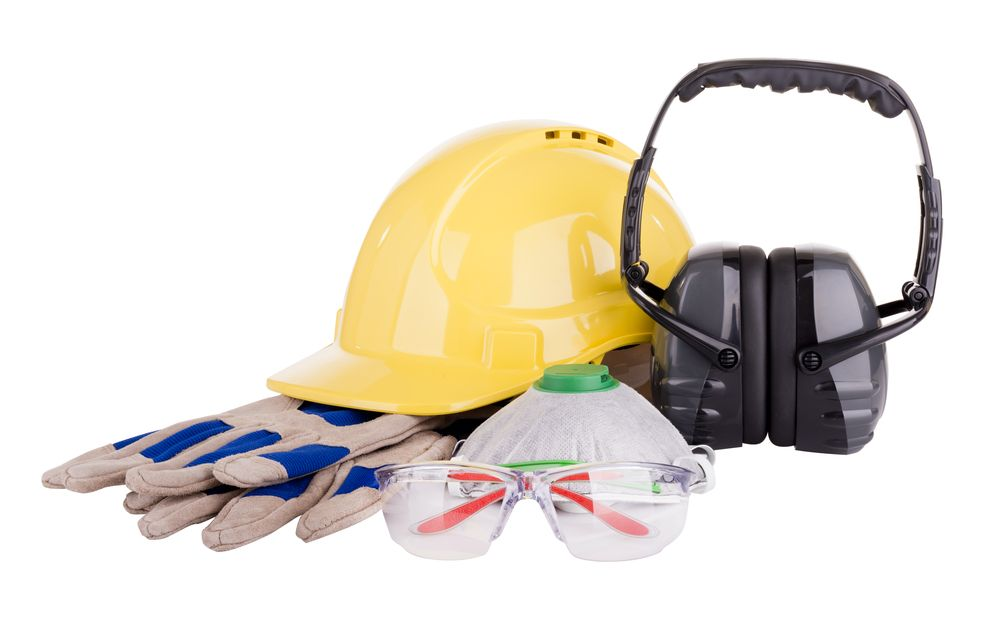 array of personal protective equipment