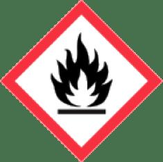 WHMIS pictogram flame