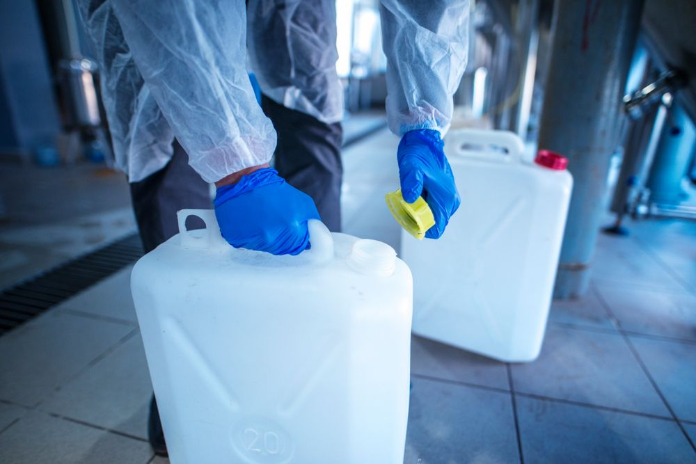 chemical hazard in workplace
