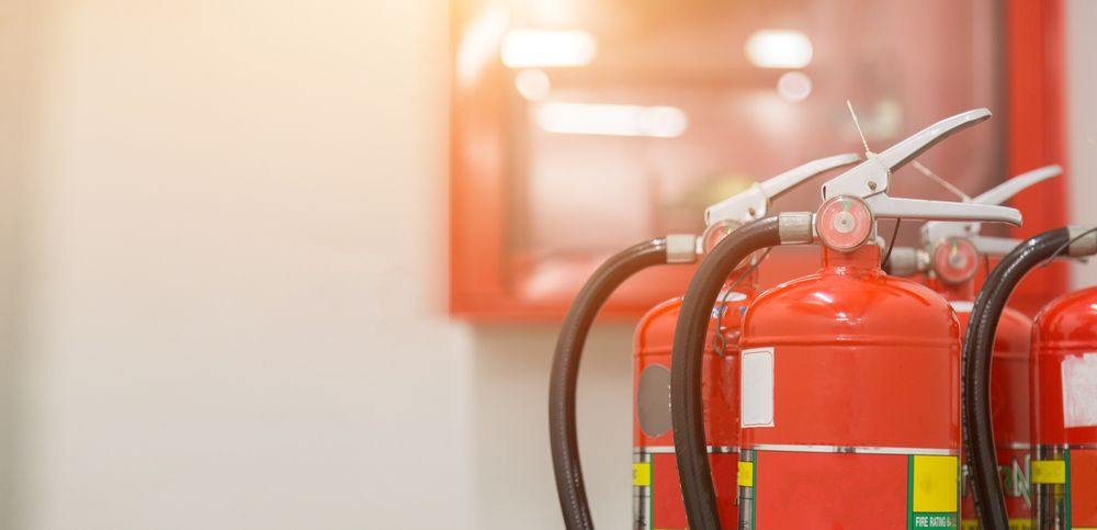 fire extinguishers in workplace