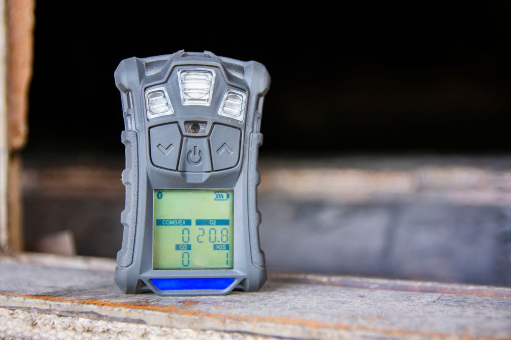 measuring air safety in confined space