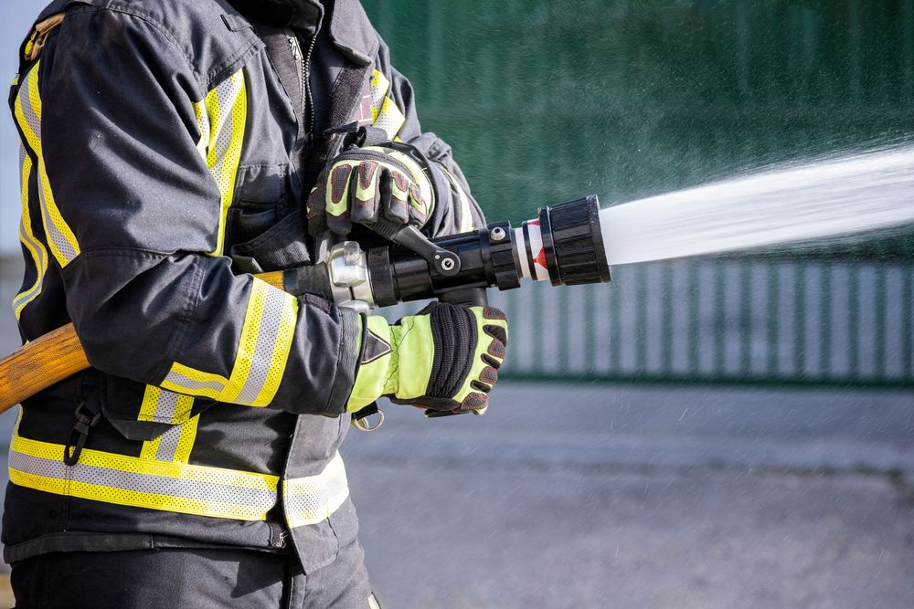 practicing fire fighting workplace fire safety risk