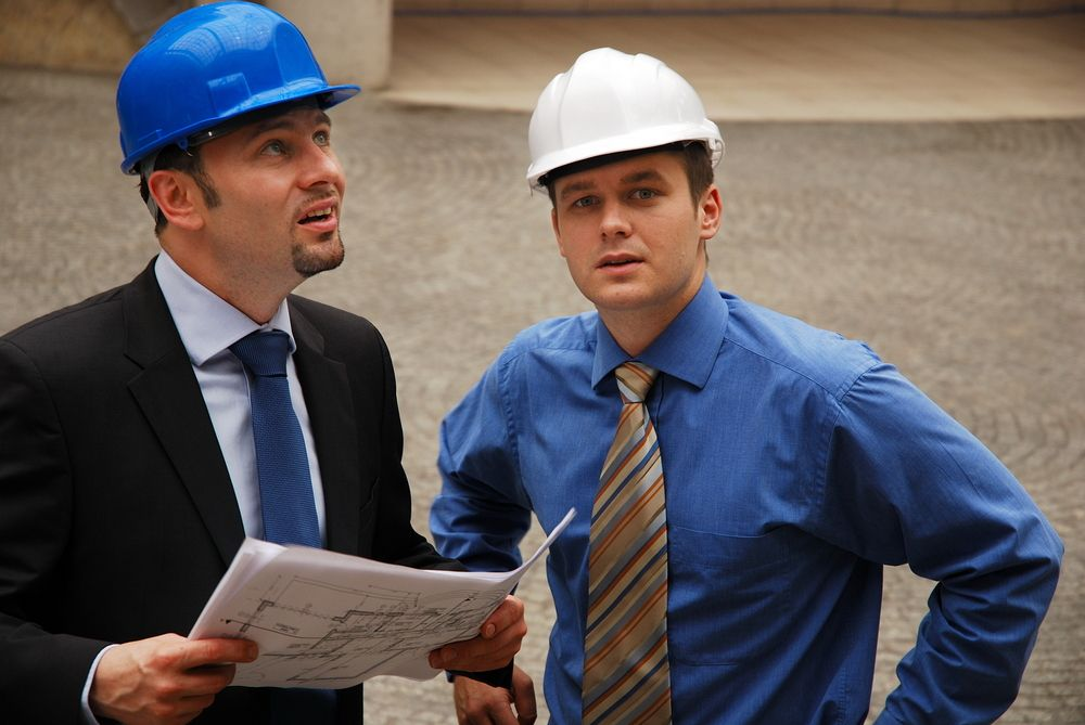 workers participate in workplace safety audit