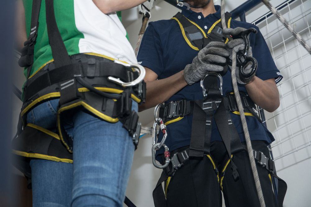 ontario workers in safety gear