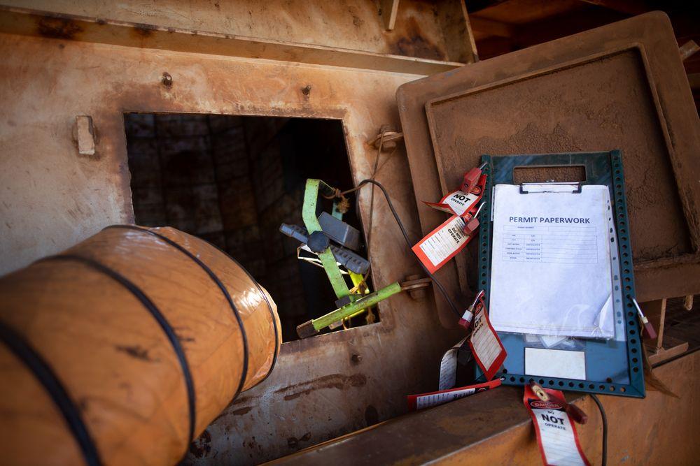 workplace hazards identified