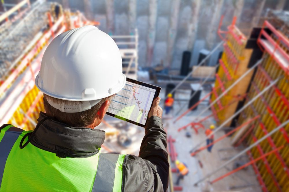 a professional safety gap analysis bein conducted on site